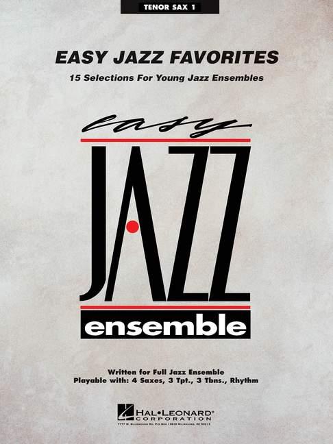 Easy-Jazz-Favorites-Various-tenor-saxophone-I-separate-part-big-band